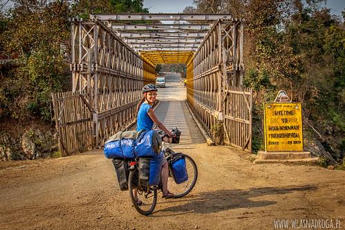 Słynny most łączący Indie z Birmą
