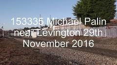 153335 Michael Palin (uktrainpics) Tags: levington class 153 diesel unit 153335 michael palin