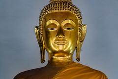 Bouddha at Wat Pho Temple (Cathy_abd) Tags: bouddha thaïlande statue temple wat po asie asiedusudest bangkok bouddhisme capitalesinternationales destinationdevoyage en rang horizontal imageencouleur or photographie prisedevueenintérieur religion sanctuaire structure bâtie tourisme touriste vue latérale cathyabd