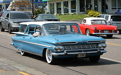 1959 Chevrolet Kingswood (SPV Automotive) Tags: 1959 chevrolet kingswood wagon classic car blue