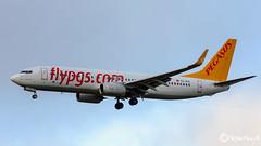 Pegasus Airlines, Boeing 737-82R(WL), TC-AIS, 38174, Sevde Nil D, November  2016 (mhoejte) Tags: copenhagenairport pegasus ekch cph