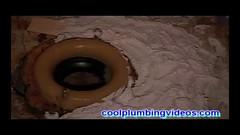 Toilet Loose and Rocky Full Tutorial_Moment(2) (plumberx1@gmail.com) Tags: plumbing plumber howtoplumbing toilet shower wast water hotandcoldwater bath tub waterheater drip leak pex pexpiping