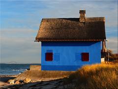 """The """"Blue Villa"""" on the Graswarder in Heiligenhafen (Ostseetroll) Tags: deu deutschland geo:lat=5437980755 geo:lon=1100104809 geotagged graswarder heiligenhafen schleswigholstein dieblauevilla ostsee balticsea bluevilla"""