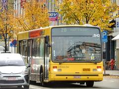 TEC 5842 Lige (sander_sloots) Tags: lige tec van hool bus a500 stadsbus autocar city