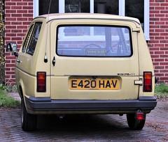 E420 HAV (Nivek.Old.Gold) Tags: 1987 reliant rialto se estate 848cc jwmilward newmarket