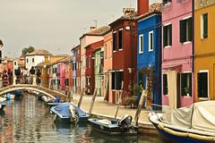 A5815VENb (preacher43) Tags: burano island venice italy architecture color canals boats