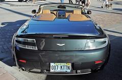 007 Kitten (Infinity & Beyond Photography) Tags: aston martin v8 vantage convertible 007 kttn kitten plate
