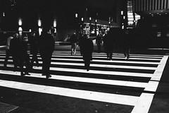 Street#466 (gbrisk9) Tags: street lines composition streetlife citylife sacramento california people walking crosswalk urbanphotography streetphotography streetphotographer x100t fujifilm nightflash flash 23mm