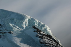 Nollengletscher am Nollen des Mnch ( Gletscher glacier ghiacciaio  gletsjer ) in den Berner Alpen - Alps ( Westalpen ) ob der Kleinen Scheidegg im Berner Oberland im Kanton Bern der Schweiz (chrchr_75) Tags: albumzzz201612dezember christoph hurni chriguhurni chrchr75 chriguhurnibluemailch dezember 2016 nollengletscher gletscher albumgletscherimkantonbern glacier ghiacciaio  gletsjer alpen alps kantonbern berner oberland schweiz suisse switzerland svizzera suissa swiss