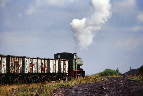 Towards the end (geoffspages) Tags: geotagged industrial railway steam bold ncb hudswellclarke geo:lat=53438448421877 geo:lon=26787574789734663