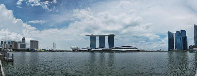 Marina Bay panorama, Singapore