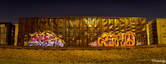 Black Label Nights. (//U\\) Tags: california cali night train photography graffiti box tracks ivy trains be boxcar graff anc freight league boxcars bek rong hoppers freights eluz zenko utel bekrew uteliebelly uteilebelly
