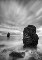 Copper Coast (Owen O'Grady) Tags: seascape art monochrome blackwhite nikon seascapes slowshutter waterford cloudscapes stradbally dungarvan coppercoast blackwhitephotos monochromeaward owenogradyphotography owenogrady