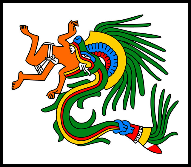 Quetzalcoatl - Codex Borgia (I think)