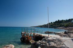 Beach - Agios Marina (Γκάελ) Tags: island greece grece 2012 iles spetses greekisland ελλαδα νησι σπετσεσ ilessaroniques