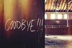 Goodbye !!! (Wayne Weatherred) Tags: school urban abandoned texas decay shift roadtrip schoolhouse tilt 45mm tse 5dmarkii 5d2