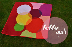 bubblequilt (Sewfrench) Tags: bubbles transparency kona wallhanging handquilted ltf machinepieced circlequilt sewfrench bloggersquiltfestivalquilt