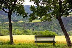the beauty of Italy (Kathy~) Tags: porticodiromagna italy seat chair bench apenninemountains hills landscape scape herowinner gamewinner gch fc instagram