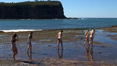 exploring the area (Val in Sydney) Tags: beach girl australia mona vale bikini nsw australie