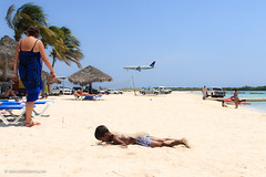 Havana Beach in Aruba (Patrick J-st) Tags: sea people beach netherlands landscape island aruba caribbean antilles