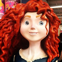 #Merida (Elysia in Wonderland) Tags: statue hair square asda manchester ginger lofi disney supermarket walmart merida pixar squareformat princes trafford statuette supercentre sbrave iphoneography instagramapp uploaded:by=instagram