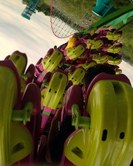 Riding the Hydra at Dorney Park, PA (PhotonPirate) Tags: corkscrew hydra dorneypark