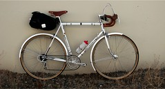 Ten Speed (apfrancis) Tags: columbus vintage italian steel brooks carradice lugged bottecchia