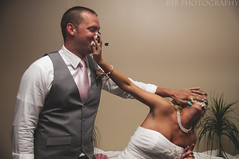 Day131 Cake Smash 5_11 (Ryan S Burkett | RSB Photography) Tags: wedding beach cake photoshop de mirror coast engagement sand nikon kiss details east rings 1750 28 delaware 18 50 bounce prep fill blend facepalm cs6 pw3 d300s sb910 rsbphotography pocketwizard3