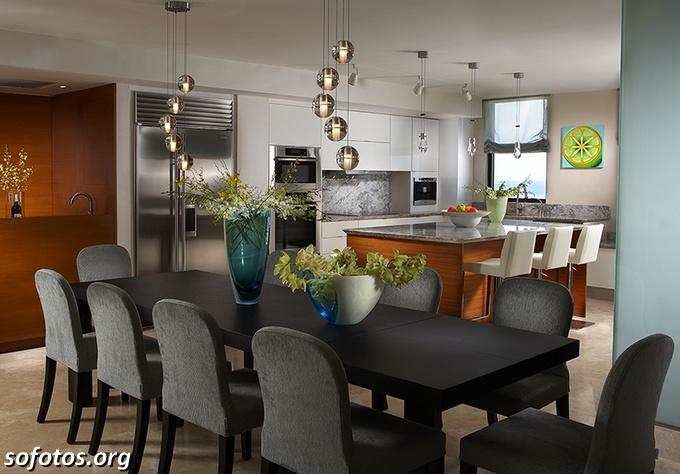 Salas de jantar decoradas (70)