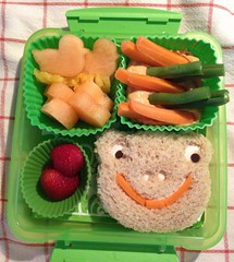Friday's Preschool Bento - 24/5/13 (Taylor's Bento) Tags: vegan bento creativefood preschoollunch uploaded:by=flickrmobile flickriosapp:filter=nofilter