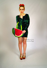 What you have in your handbag Amely? (amelyrose) Tags: newyork art fashion photo pretty dress exhibition purse messy need shooting lipstick sometimes handbag ladylike cause missrevolution thebizarrebirdcage amelyrose
