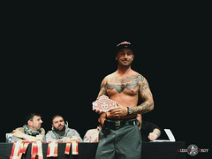 Tattoo World Strasbourg 2013 (Ludo Pics-Troy) Tags: world hot tattoo marcel benoit pics centre performance troy tattoos strasbourg alsace convention rod rise tatoo ludo tws marceau tatouage ludovic culturel neudorf tatouages 2013 tatoueur picstroy