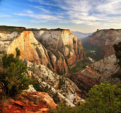 Zion National Park from overlook Trail verto 2 (houstonryan) Tags: park print landscape photography landscapes utah sandstone photographer desert ryan may houston southern trail national photograph stunning 24 zion redrock overlook zone riparian 2013 houstonryan