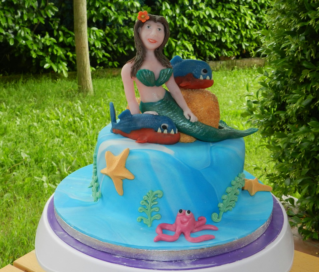 fishing wedding cake island the world s best photos of mermaid and sugarpaste flickr 14290