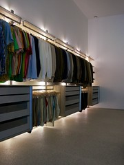 De ideale open dressing (ANYWAY doors) Tags: wall doors open dressing led anyway