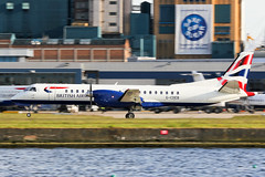 G-CDEB British Airways SB20 at London City EGLC (AeroPics) Tags: londoncityairport londoncity lcy eglc runway09 steepapproach stolport