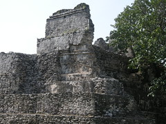 El Meco Site Cancun, Mexico (Kirt Edblom) Tags: mexico ruins pyramid maya scenic mayan cancun archeological elmeco