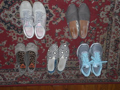 CIMG3254 (CallalilyGazer) Tags: worn smelly dirtyshoes slipons stinkyshoes tomsshoes