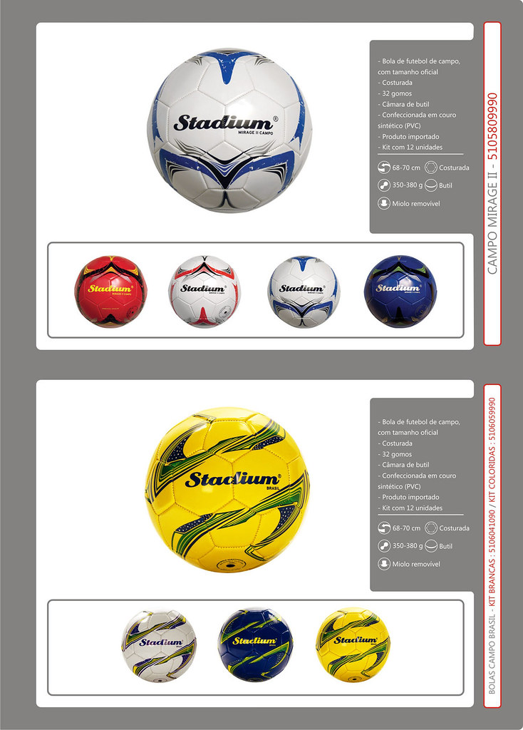 e896926317 Catálogo Bolas 2013 FINAL 9 (Stadium Sports) Tags  stadium mirage bola  society oficial