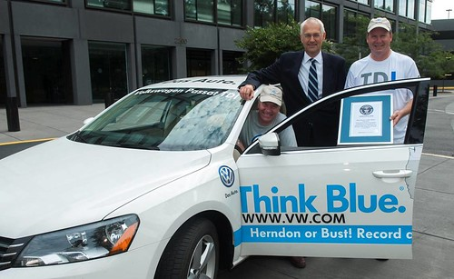 VW's Passat TDI Clean Diesel sets a Guinness World Record
