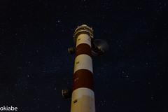 Faro Pors (oki abe) Tags: longexposure night stars faro noche spain estrellas tenerife beacon largaexposicin abades estrellasfijas