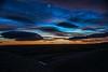 Old moon at sunrise (Ian@NZFlickr) Tags: old moon sunrise nz otago mahinerangi fleursetpaysages