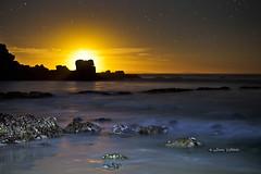 Moon Light - 0266 (Jason Whittle XsLight Photography) Tags: sea sky seascape beach water stars coastal sa southaustralia starsrocks