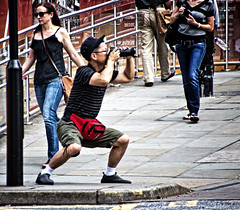 I hope he got the shot (tootdood) Tags: street manchester photographer candid stpeterssquare stance shootingtheshooter canon600d