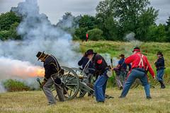 Boom! (Zane's Photography) Tags: civilwar reenactment d800 americancivilwar wcwa washingtoncivilwarassociation chehaliscivilwarreenactment2013
