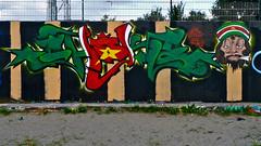 Den Haag Graffiti : Choke Farewell Jam (Akbar Sim) Tags: holland netherlands graffiti nederland denhaag choke thehague spel vot agga waldorpstraat akbarsimonse hoflaak akbarsim
