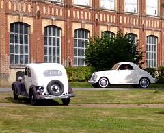 Renault Celtaquatre ZR2 1935 et Simca 8 Coup (gueguette80 ... non voyant pour une dure indte) Tags: old cars renault autos fte aout voitures 1935 anciennes pasdecalais zr2 rassemblement hesdin franaises 2013 filature auchy celtaquatre