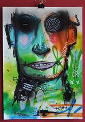 Forget Me Not (id-iom) Tags: man london art me face graffiti eyes paint head magic arts spray spraypaint brixton acrylicpaint forget hypno idiom paintmarker aerosolpaint