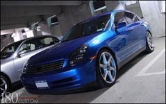 Infiniti G35 Sedan (03-06) Headlight (ONEightyNYC) Tags: sedan headlights g35 infiniti v35 oneighty