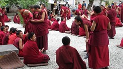 Debating monks, Sera Monastery, Tibet (PeterCH51) Tags: china religious video buddhist religion culture buddhism philosophy tibet monastery monks tibetan tradition lhasa debating sera seramonastery tibetanbuddhist gelugpa explored inexplore gelukpa peterch51